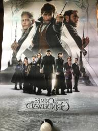 Poster Cartaz de Cinema de Animai fantàsticos e os crimes de Grindewald