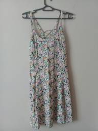 Vestido Curto - Florido