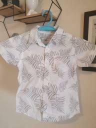 Camisa florida 2 anos