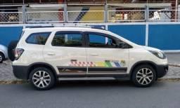 Chevrolet Spin Activ flex com GNV e praça de Taxi
