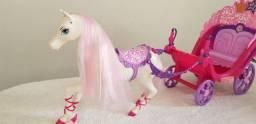Carruagem Barbie - A Princesa E A Pop Star ? Mattel