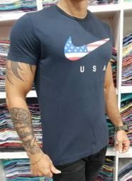 Camisa tipo lavada top de linha