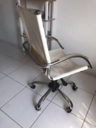 Cadeira Computador Couro