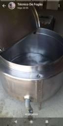 Manutenção de caldeira inox