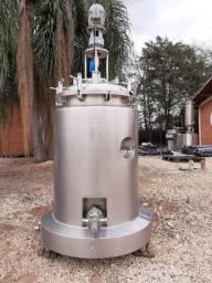Reator aço inox 240 litros Piloto