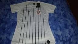 Camisa do Corinthians feminina baby look
