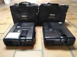 02 projetores diebold (somente venda - leia a descrição)