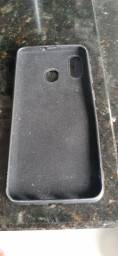 Capa de silicone preta Samsung A20 e A30