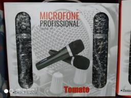 Microfone Profissional COM Fio 2 Unidade