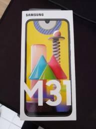 M31 128GB Novo Com Nota Fiscal e 12 meses de garantia