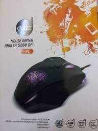 Mouse Gamer Angler 5200 DPI