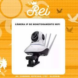 Câmera IP com conexão Wifi e dispensando o uso de DVR, veja tudo pelo celular