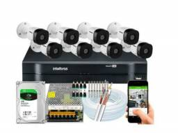 Kit da sistema de câmeras peça já seu orçamento semcompromisso  zap *