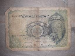 Cédula de 2 escudos e 50 centavos 1920 Portugal