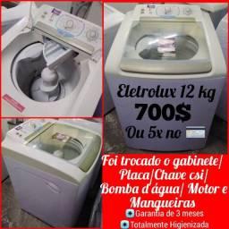 Máquina de lavar Eletrolux 12 kg com garantia e entrega(somente na ZL)