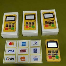 Maquininha de cartão PagSeguro(fazemos entrega)
