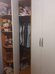 Guarda roupa closet cama embutida