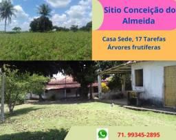 Excelente Sítio Conceição Almeida, 17 tarefas, casa sede 3 quartos, 02 suítes