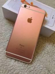 IPhone 6s PLUS 64gb rose- IMPECÁVEL