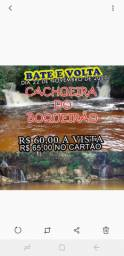 Bate e volta CACHOEIRA DO BOQUERAO  R$ 60,00