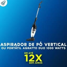 Aspirador de Pó Vertical ou Portátil Agratto Duo