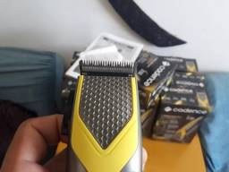 Maquina Cortador Cabelo Apara Barba + 8 Acessórios 220 V