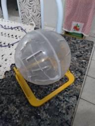 Gaiola e briguedo para hamster