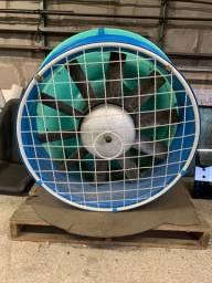 Turbina Montana 800mm com sistema giratório