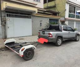 Carretinha Asa Delta / troco por scooter