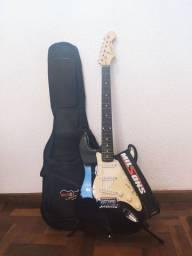 Guitarra Benson   STR com Capa, Correia e Suporte