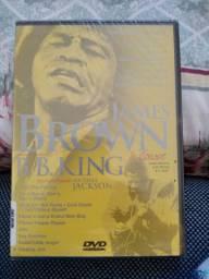 Dvd James Brown  b b King in concert