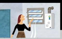 Assistência de aquecedor a gás 24 h