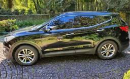 Hyundai Santa Fe 3.3 V6 AT AWD 7L 2014, BLINDADA - ÚNICA DONA!