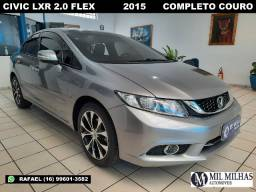 Civic 2.0 LXR Flex 2015 Completo