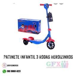 Patinete 3 rodas HEROIZINHO