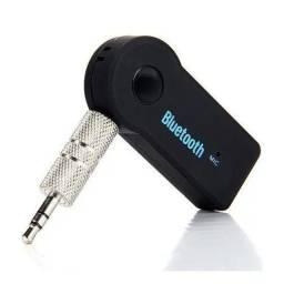Adaptador Receptor De Áudio P2 Bluetooth Sem Fio Para Carro