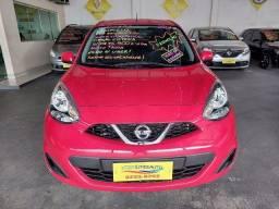 Nissan March S 1.0 Vermelho