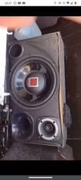 Vendo caixa de som trio completa sub 12 + driver+tweeter+modulo
