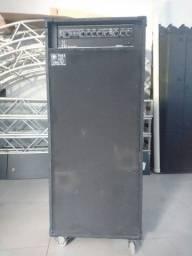 Título do anúncio: Cubo sistema completo caixa para contra baixo cabeçote meteoro 800mb fala muito grave!