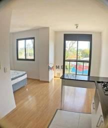 Apartamento com 1 dormitório para alugar, 48 m² por R$ 1.200,00/mês - Cristo Rei - Curitib