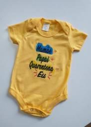 Bóres bordados para bebês