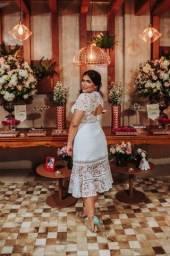 Vendo vestido casamento civil/dia/midi