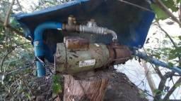bomba elétrica monofásica  Schneider  2vc, 6metros de mangote, válvula de retenção