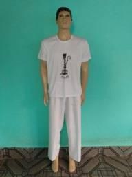 Camiseta camisa + calçolão Orixá Oxum umbanda Candomblé<br>