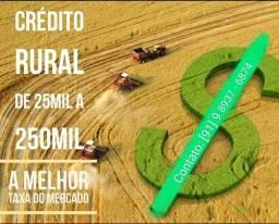 Crédito rural em todo território nacional.
