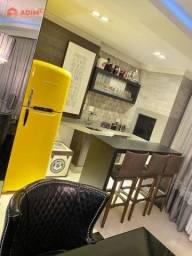 Apartamento com 3 dormitórios para alugar, 134 m² por R$ 6.500,00/mês - Centro - Balneário