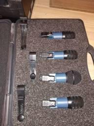 Microfones Bateria /Percussão audio-technica