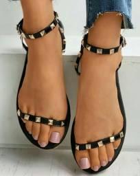 PROMOÇÃO Sandálias femininas de verão