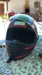 Vendo conjunto de capacete, numeração de ambos 58