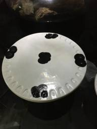 Kit de boleiras com estampa de vaca